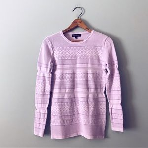 Banana Republic purple Long Sleeve Thermal Shirt